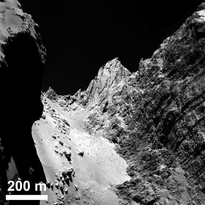 Kometa 67P/C-G, Hapi a Hathor