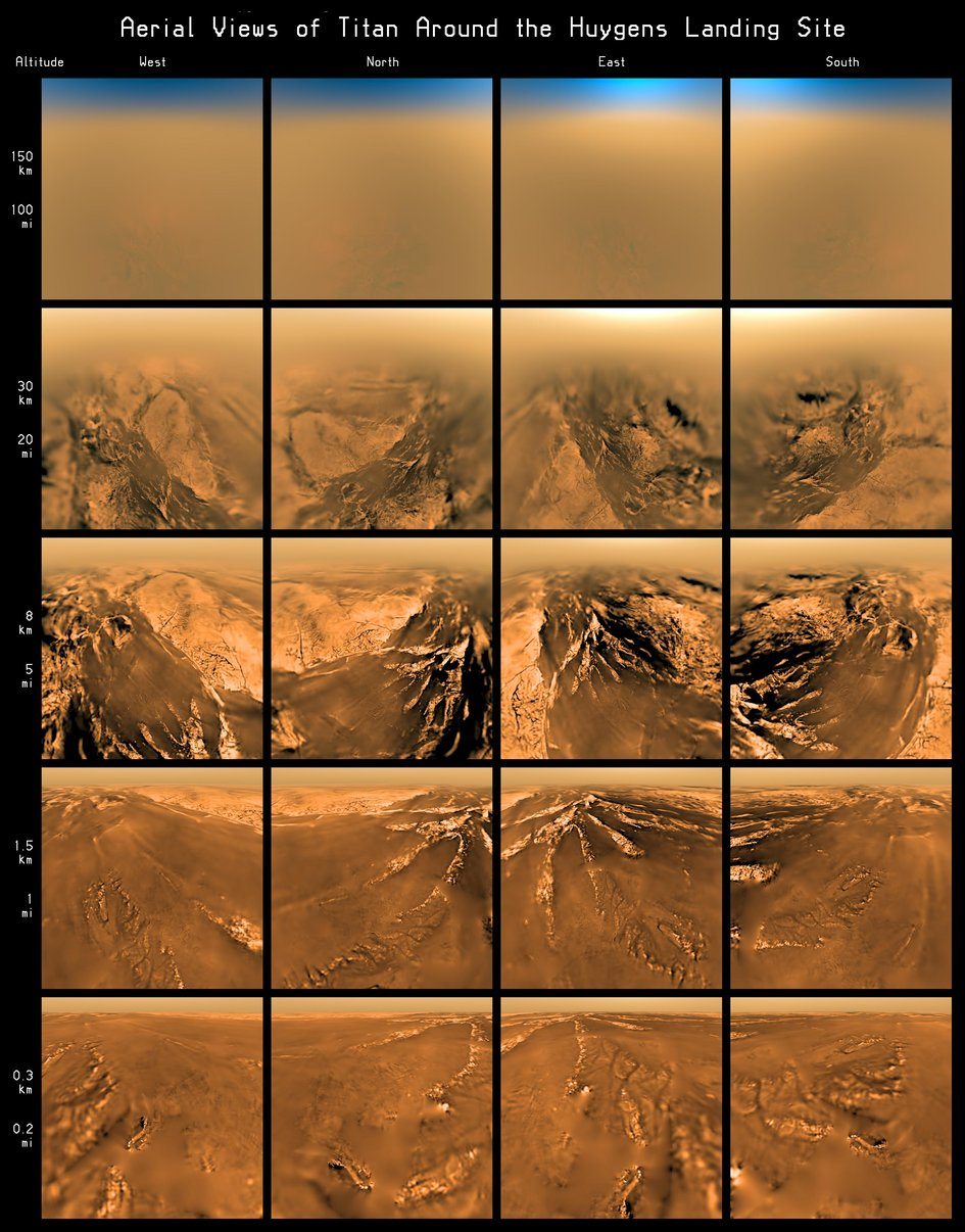 Huygens: The top 10 discoveries at Titan