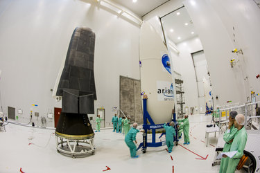 IXV before fairing encapsulation