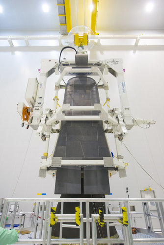 IXV installation on its payload adapter