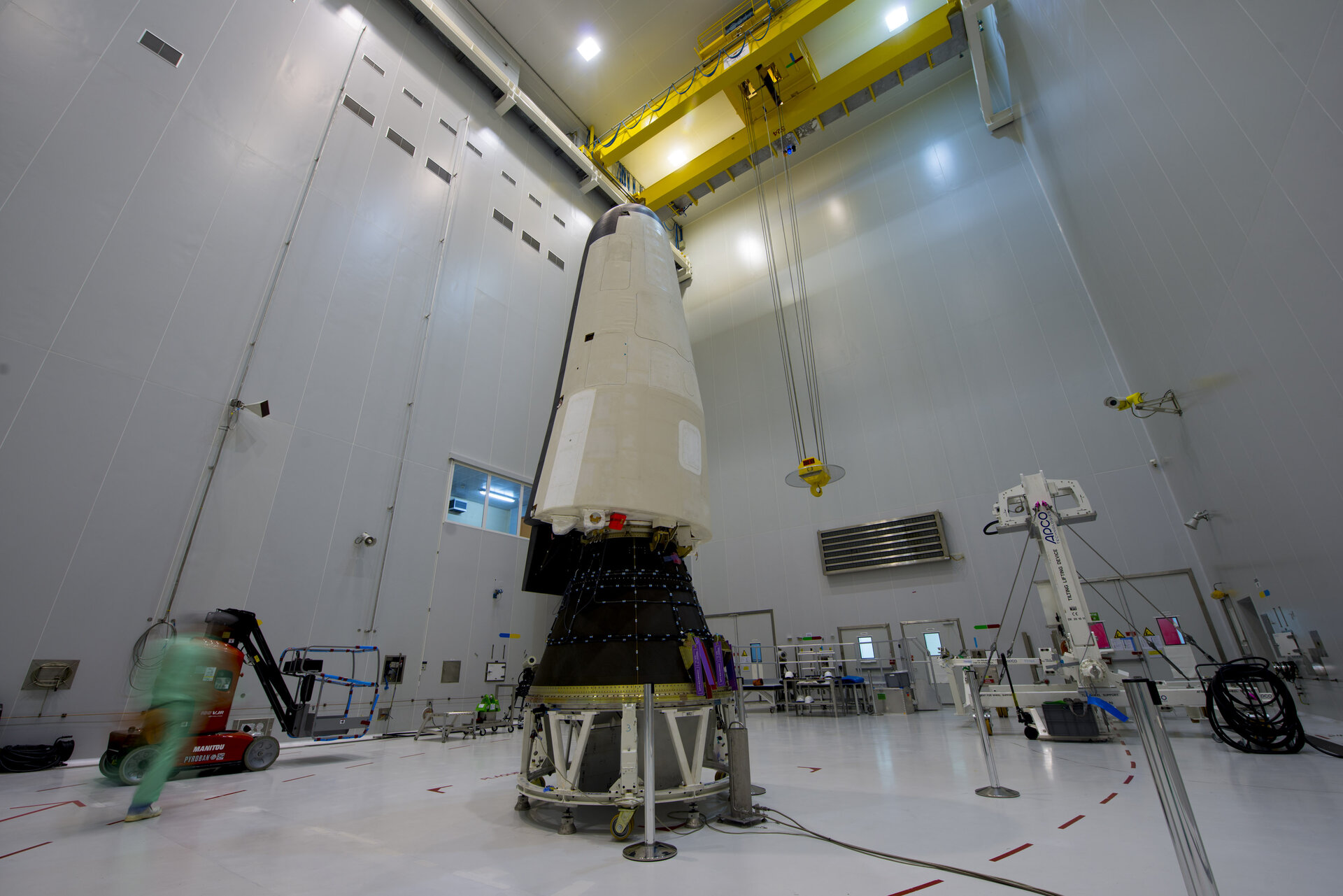 IXV installed on its payload adapter