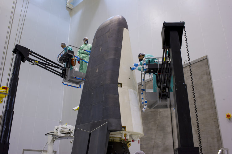 IXV is being prepared for launch