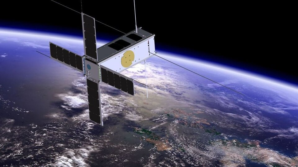 Picasso CubeSat, launching in June