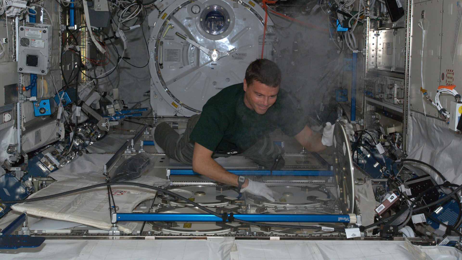 Freezing samples on Station
