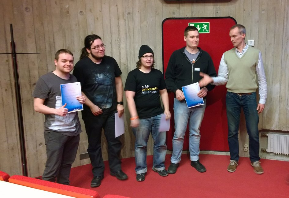 Appathon winning team, Finland