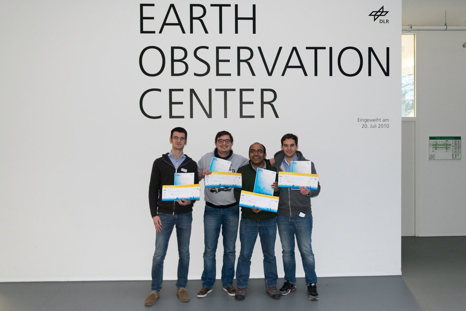 Appathon winning team, Germany