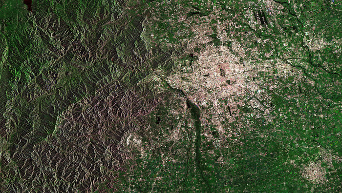 Beijing China node full image 2 - ESA satellite pictures
