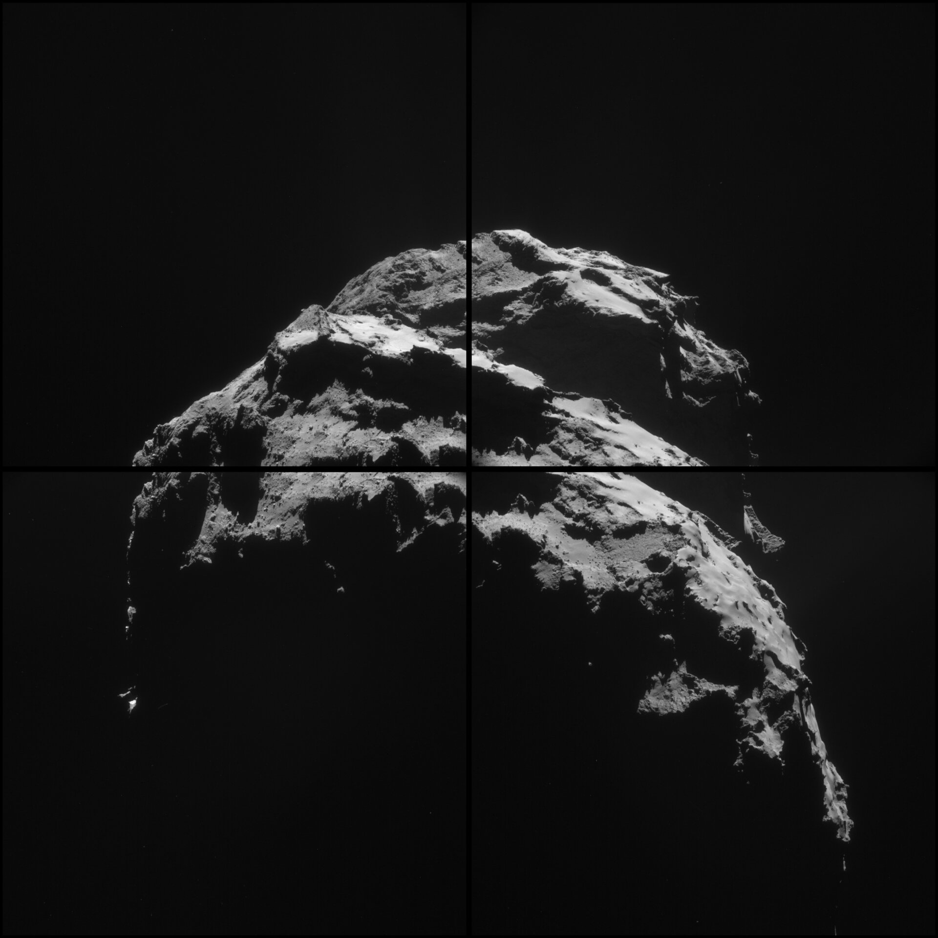 Comet on 26 January 2015 – NavCam