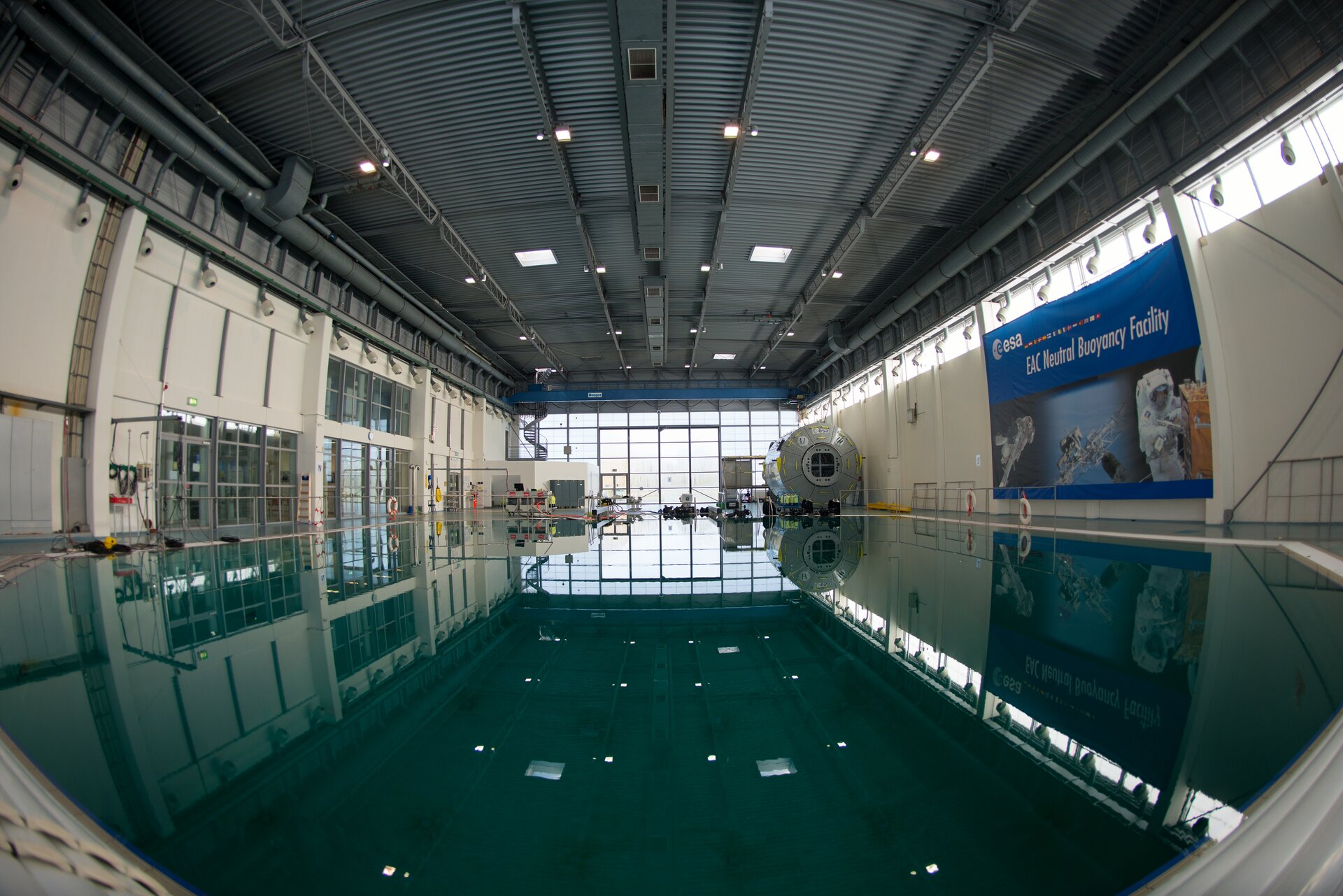 ESA's Neutral Buoyancy Facility at EAC
