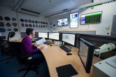 EUROCOM control room at EAC