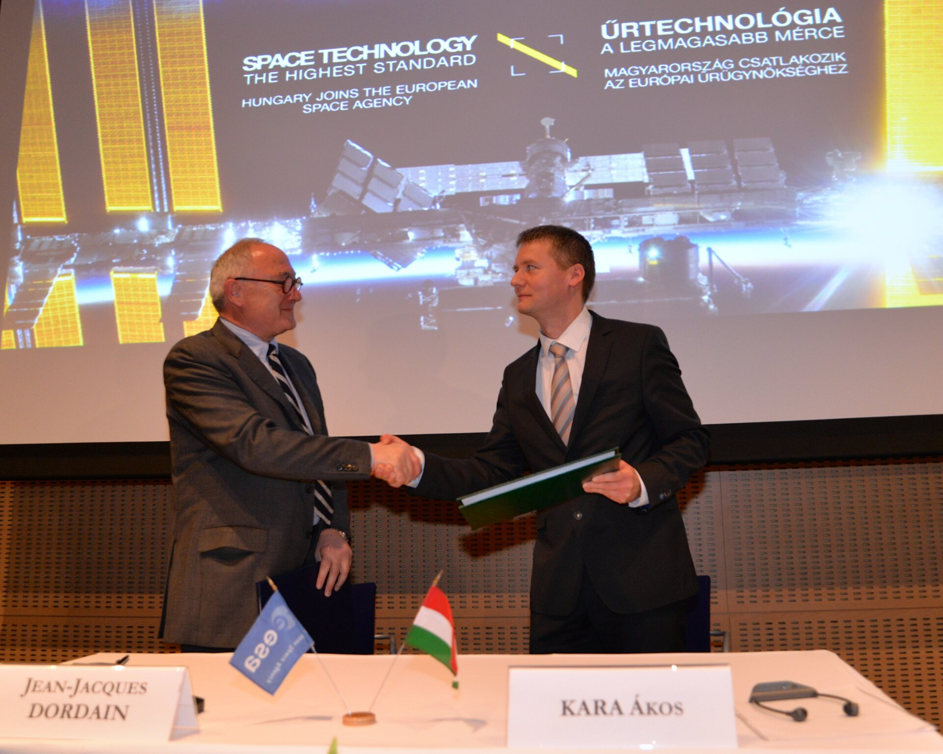 Hungary accedes to ESA Convention