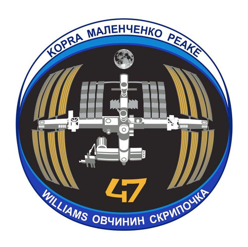 ISS Expedition 47 patch, 2016