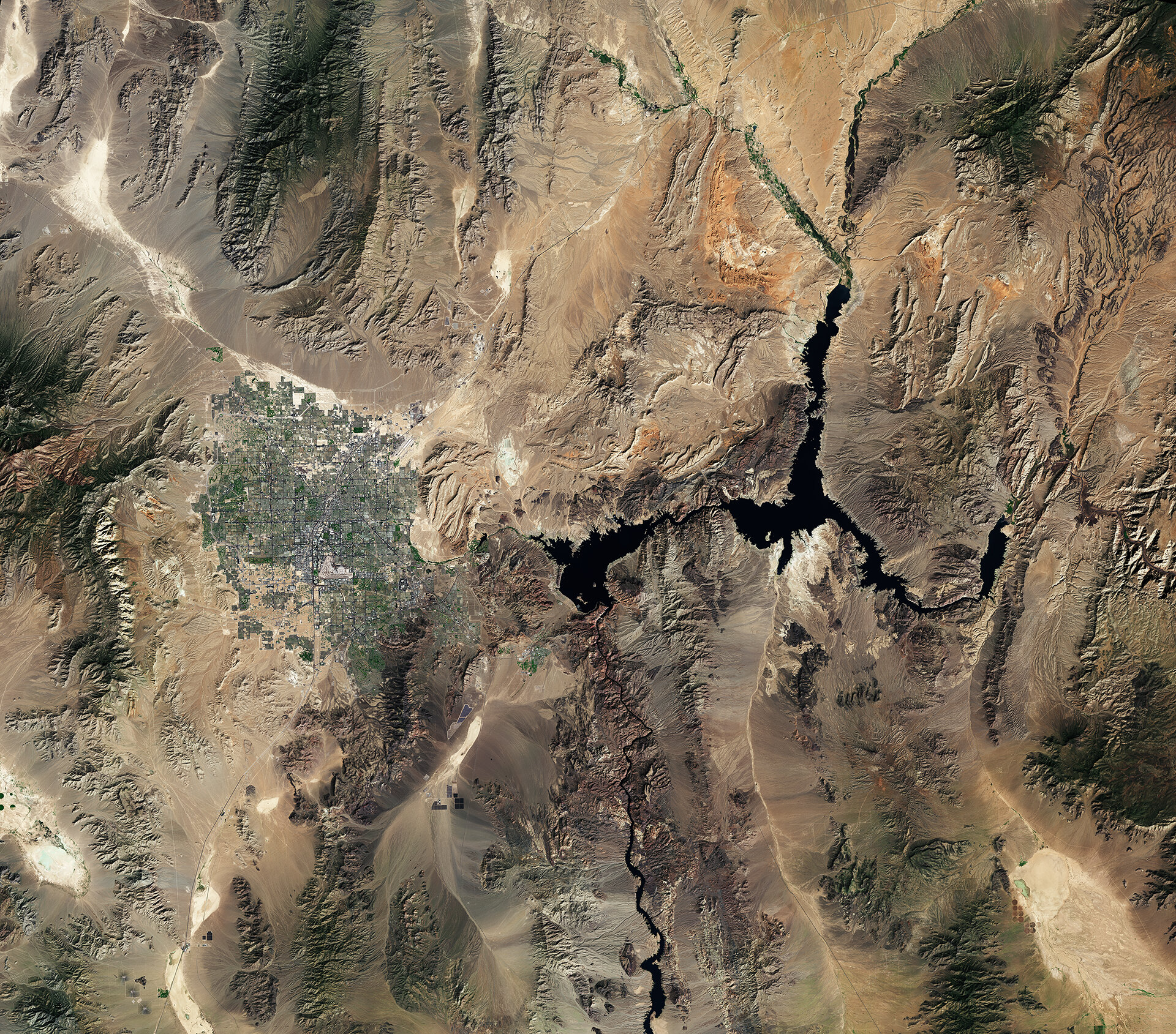 Las Vegas and Lake Mead