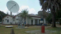 The 10-m diameter tracking station at Malindi, Kenya, will support ESA's IXV mission in 2015