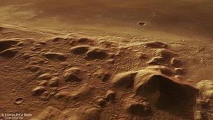 Las colinas de Marte ocultan un pasado helado