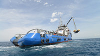 A prototype of the suborbital IXV Intermediate eXperimental Vehicle was recovered off the coast of Tuscany, Italy.