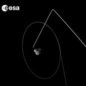 First, it will move out to a distance of roughly 140 km from the comet by 7 February, before swooping in for the close encounter at 12:41 GMT (13:41 CET) on 14 February.