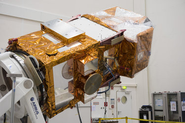Sentinel-2A fully integrated