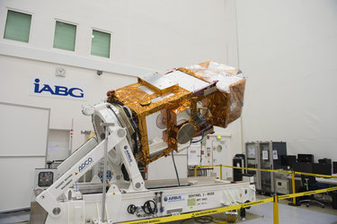 Sentinel-2A fully integrated at IABG's facilities