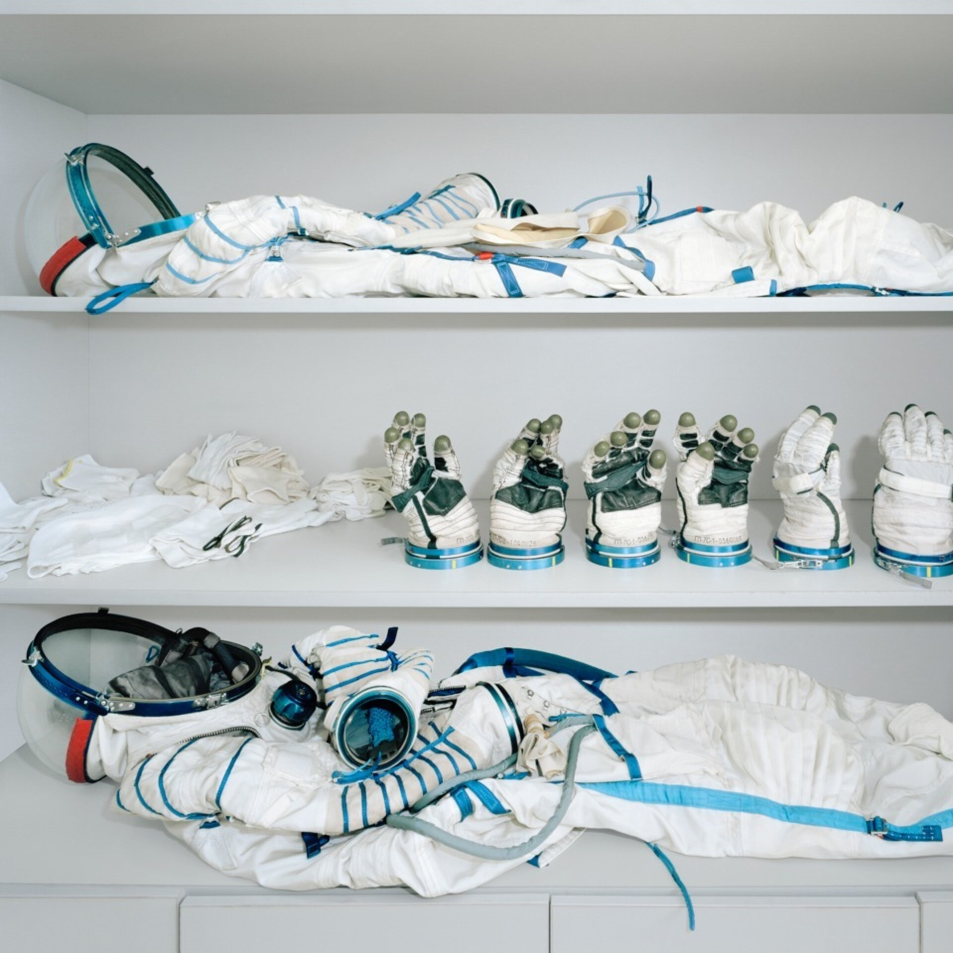 Astronauts' dressing room