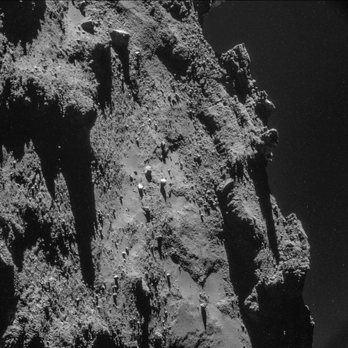 Comet on 19 October 2014 – NavCam