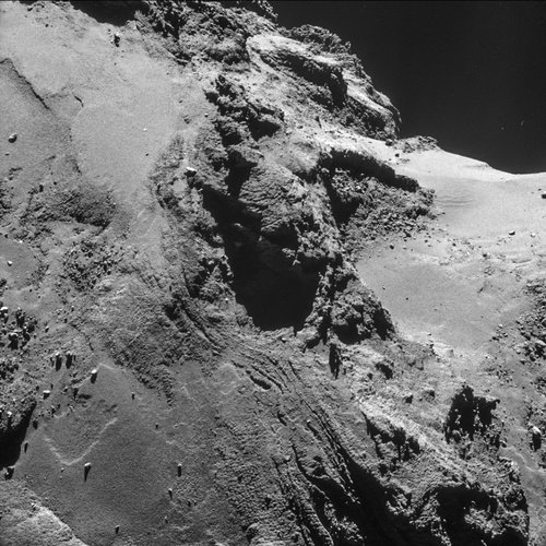 Comet on 21 October 2014 – NavCam