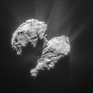 El cometa de Rosetta