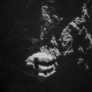 Comet on 24 October 2014 – NavCam