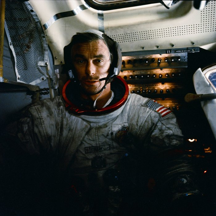 Астронавт NASA Юджин Сернан