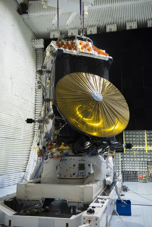 ExoMars Trace Gas Orbiter during tests