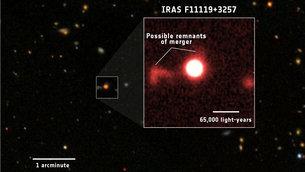 El viento de los agujeros negros puede detener la formación de estrellas