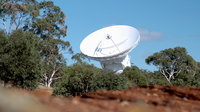 ESA's 35m deep-space tracking station at New Norcia, Western Australia, was inaugurated in March 2003