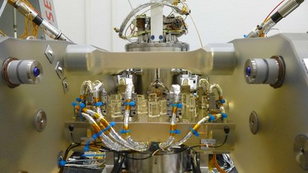 Optical bench of LISA Pathfinder