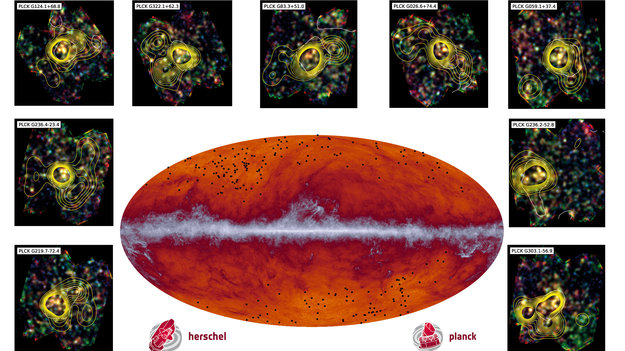 herschel-and-planck-find-missing-clue-to-galaxy-cluster-formation