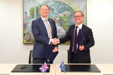 Signature of ESA/UK Collaborative Ground Segment Cooperation agreement
