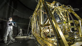 Simulating space for JWST's four infrared instruments