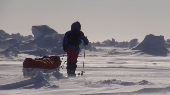 Arctic trek for CryoSat