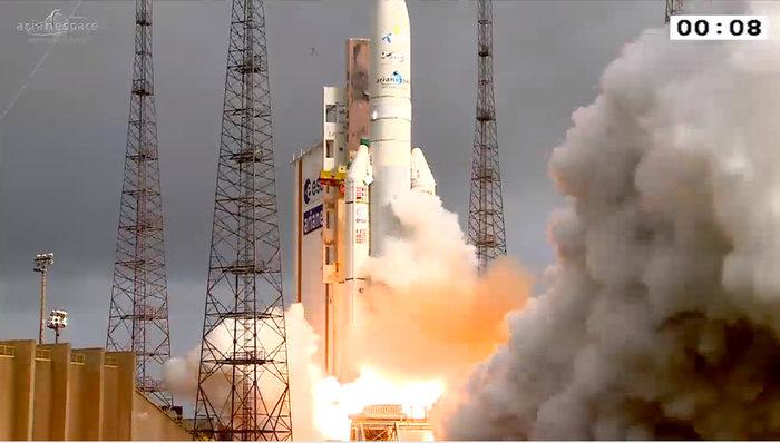 Ariane 5 lancering