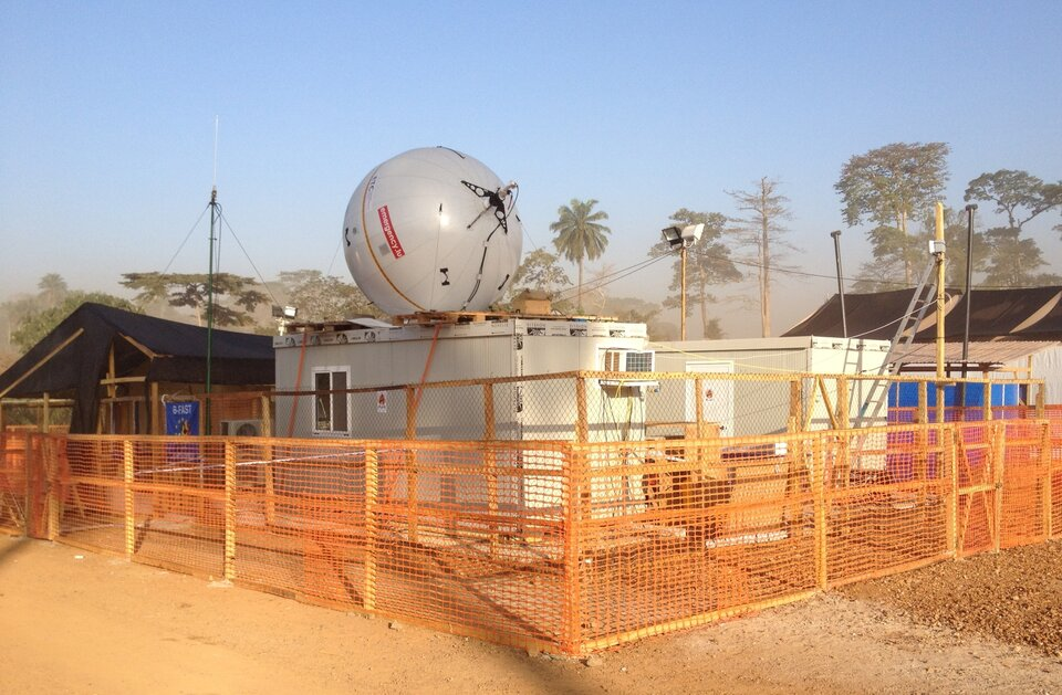 B-LiFE at Ebola treatment centre