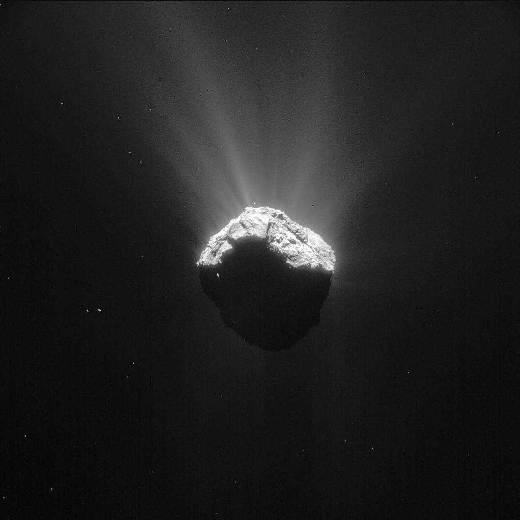 Space in Images - 2015 - 04 - Comet on 15 April 2015 (c ...