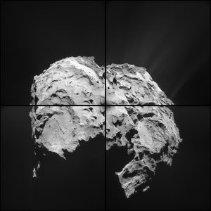 Comet on 28 March 2015 – NavCam montage (c)