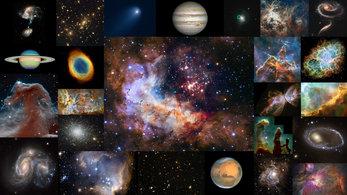 Mein Astronomie Magazin - Magazine cover