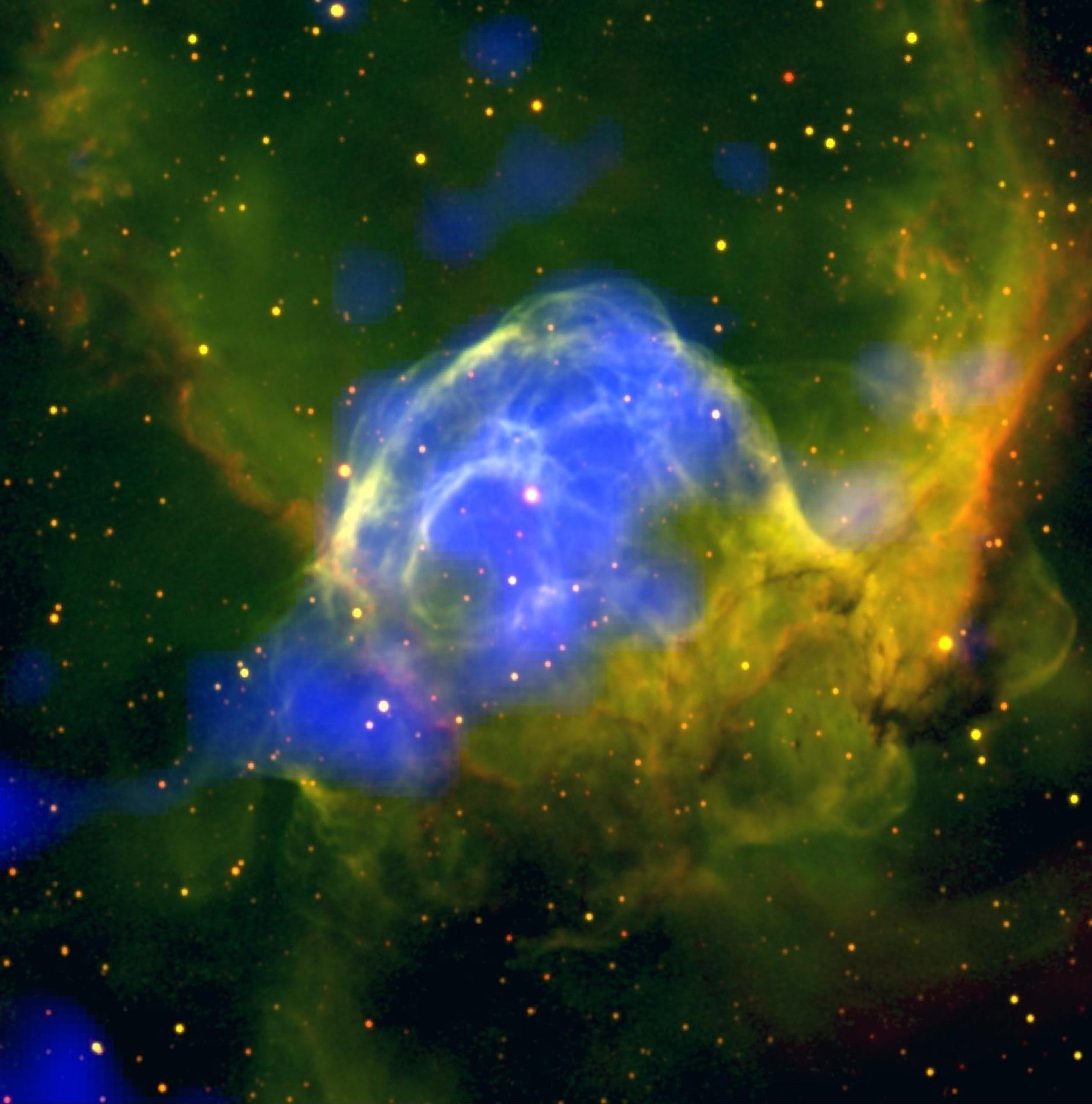 neon nebula in space - photo #15