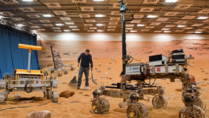 Mars Yard at Airbus Defence and Space, Stevenage, UK