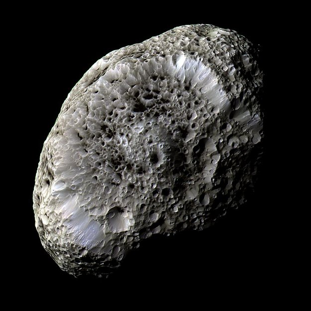 Saturn's sponge-like moon Hyperion