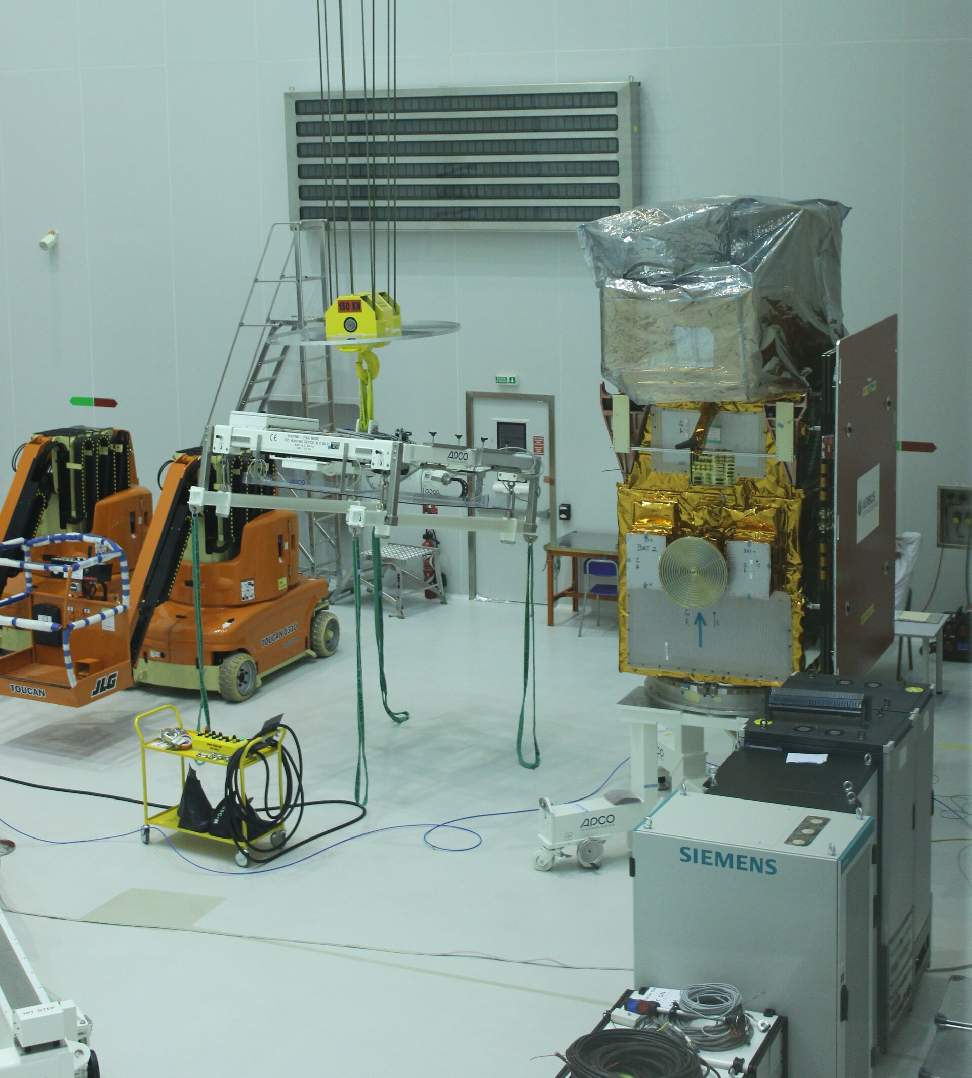 Sentinel-2A ready and waiting