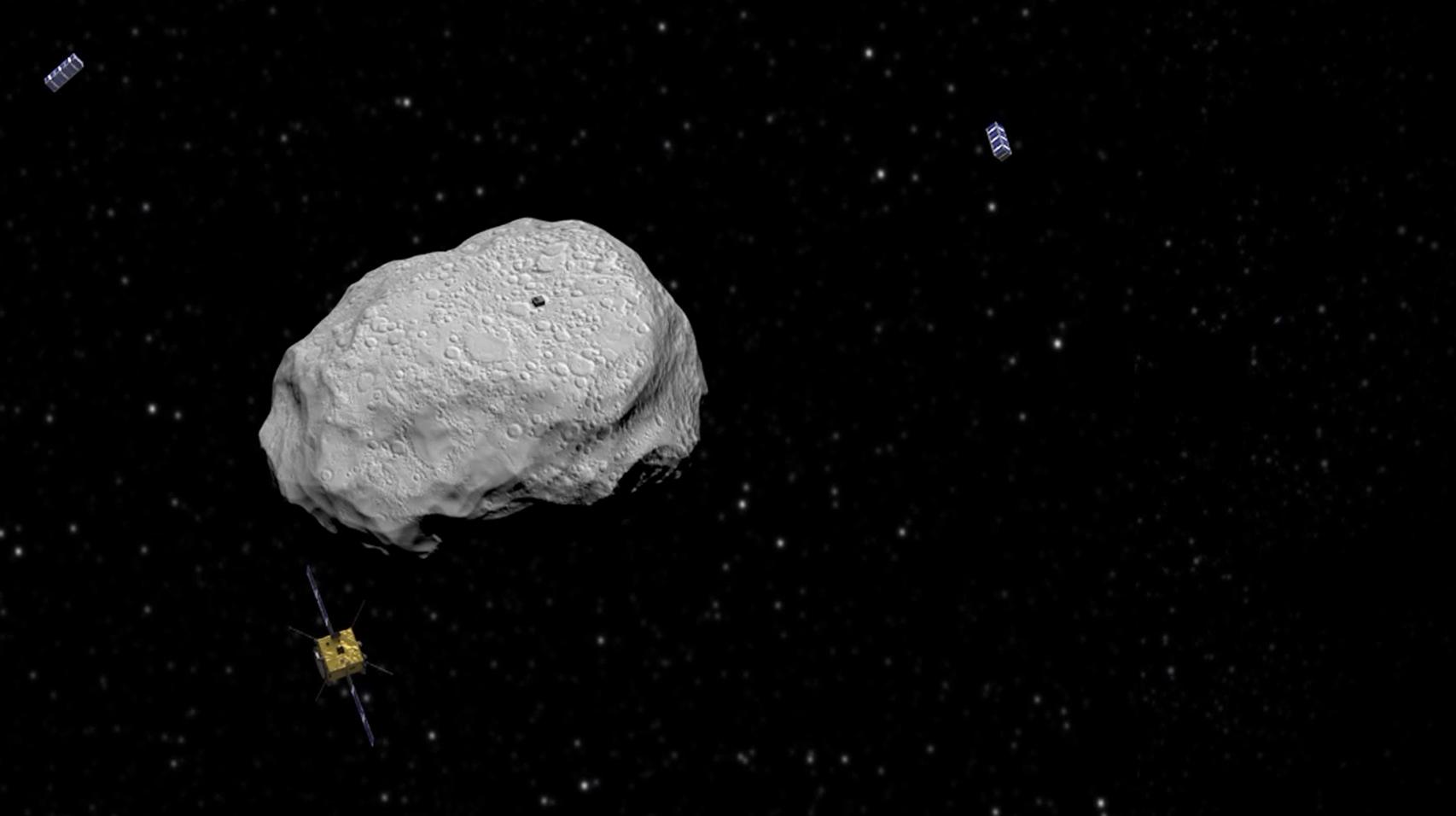 space probe comet impact - photo #17