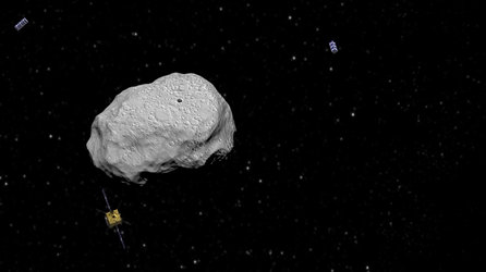 Asteroid Impact Mission spacecraft