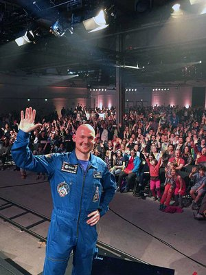 ESA astronaut Alexander Gerst at re:publica conference 2015