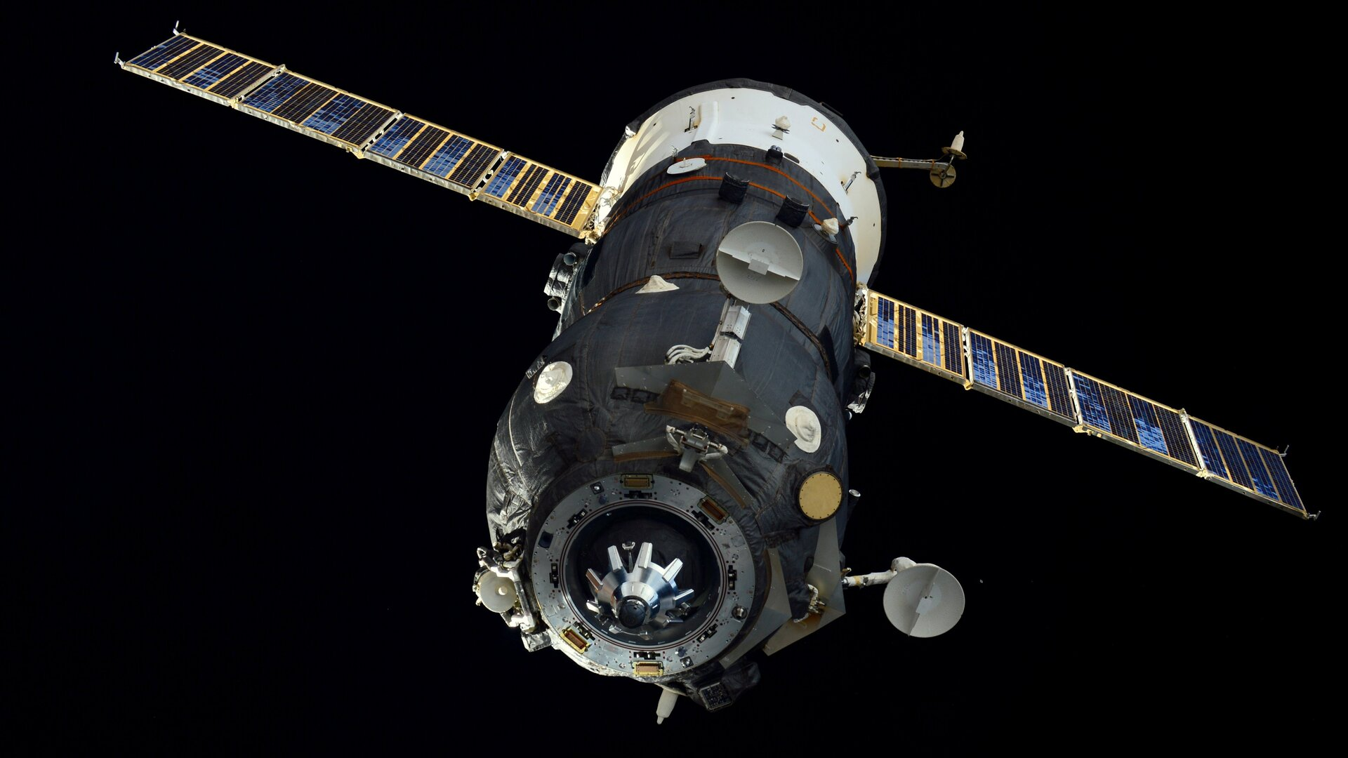 Progress supply spacecraft